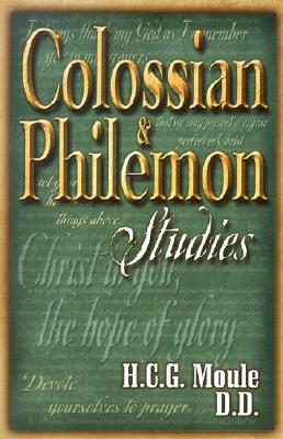 Image for Colossian and Philemon Studies: A Classic Commentary