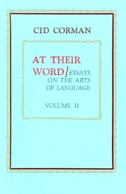 AT THEIR WORD : ESSAYS ON THE ARTS OF LA, CID CORMAN