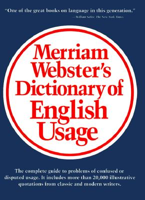 Merriam-Webster's Dictionary of English Usage, Merriam-Webster