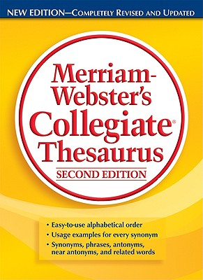 Image for Merriam-Webster's Collegiate Thesaurus