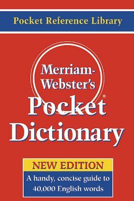 MERRIAM-WEBSTER'S POCKET DICTIONARY, MERRIAM-WEBSTER