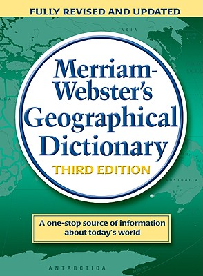 Image for Merriam-Webster's Geographical Dictionary