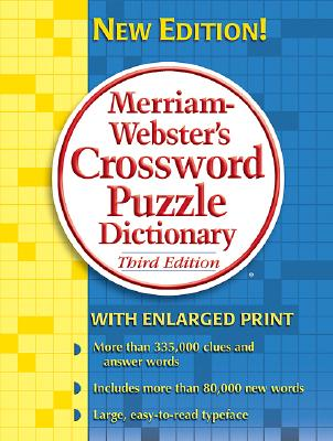 Image for Merriam-Webster's Crossword Puzzle Dictionary