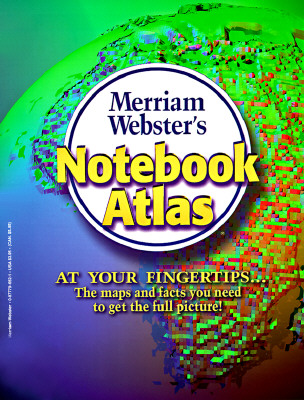 Image for Merriam-Webster's Notebook Atlas, Paperback, 3-Hole Punched