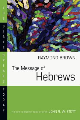 Image for The Message of Hebrews (The Bible Speaks Today)