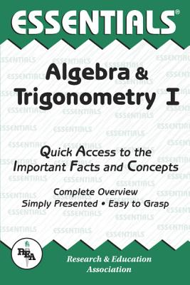 Image for Algebra & Trigonometry I Essentials (Essentials Study Guides) (Vol 1)