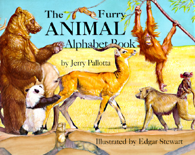 "The Furry Animal Alphabet Book, ""Pallotta, Jerry"""