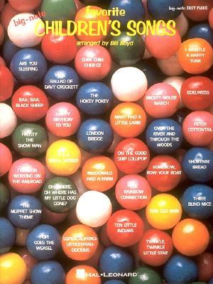 Favorite Children's Songs: Arr. Bill Boyd, Boyd, Bill
