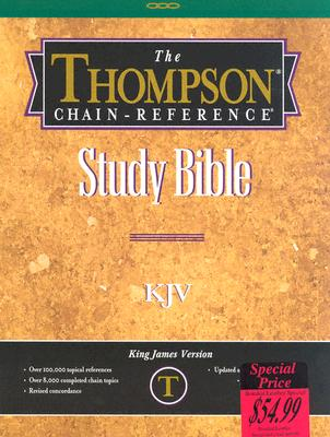 509 Burgundy Thompson-Chain Reference Bible-KJV