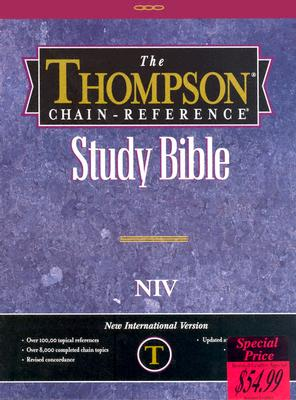 Image for Thompson Chain Reference Bible (Style 809black) - Regular Size NIV - Bonded Leather