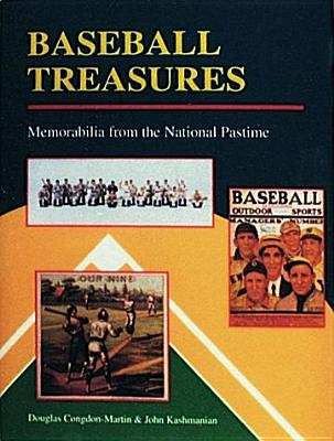 Image for Baseball Treasures: Memorabilia from the National Pastime