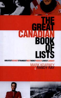Image for The Great Canadian Book of Lists