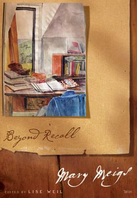 Image for BEYOND RECALL: MARY MEIGS