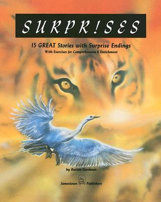 Image for Surprises:  15 Great Stories with Surprise Endings with Exercises for Comprehension & Enrichment (Goodman's Five-Star Stories, Level D)