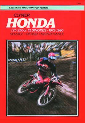 Honda 125-250Cc, Elsinores 1973-1980, Ed Scott, Mike Bishop