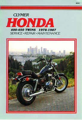 Honda 400-450Cc Twins 1978-1987 : Service Repair Maintenance, ED SCOTT