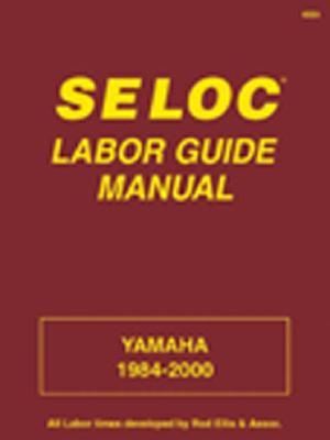 Image for Yamaha Labor Guide Manual: Yamaha 1984-2000