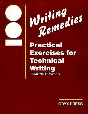 Image for 100 Writing Remedies: Practical Exercises for Technical Writing