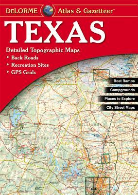 Texas Atlas & Gazetteer, Delorme