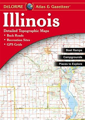 Illinois Atlas and Gazetteer, Delorme