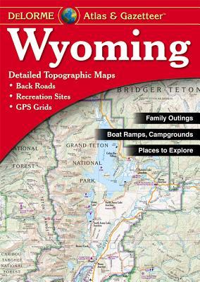 Wyoming Atlas & Gazetteer, Delorme