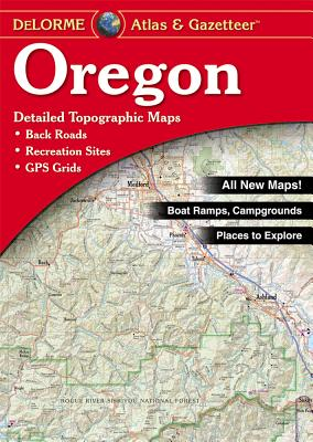 Oregon Atlas and Gazetteer, Delorme