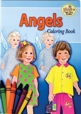 Image for Coloring Book about Angels
