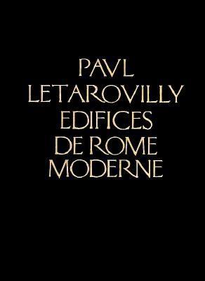 Image for Edifices de Rome Moderne (Reprint Series)