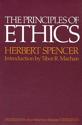 Image for The Principles of Ethics: In Two Volumes