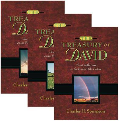 The Treasury of David (3 Volume Set - Complete), Spurgeon, Charles Haddon