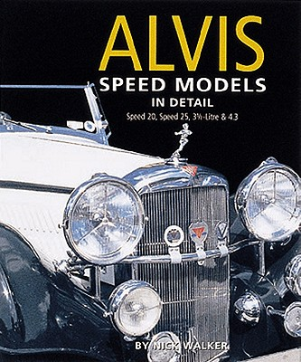 Image for Alvis Speed Models in Detail