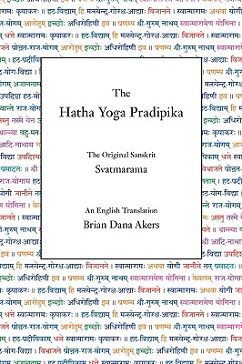 Image for The Hatha Yoga Pradipika
