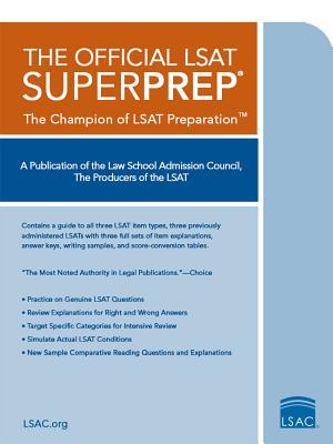 Image for The Official LSAT SuperPrep
