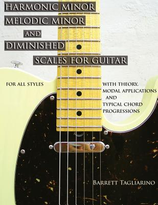 Image for Harmonic Minor, Melodic Minor, and Diminished Scales for Guitar