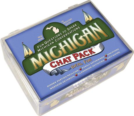 Image for Chat Pack Michigan: Fun Questions to Spark Michigan Conversations