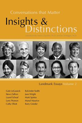 Image for Conversations That Matter: Insights & Distinctions-Landmark Essays Volume 2