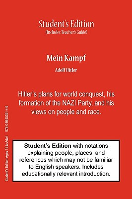 Image for Mein Kampf (Student's & Teacher's Classroom Edition)