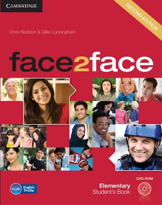 Image for Face2face Elementary Student's Book with DVD-ROM 2nd Edition