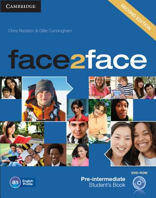 Image for Face2face Pre-Intermediate Student's Book with DVD-ROM 2nd Edition