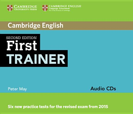 Image for First Trainer Audio CDs (3)