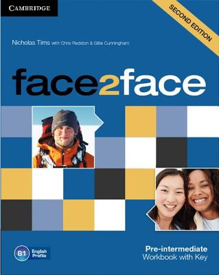 Face2face Pre-Intermediate Workbook with key 2nd Edition, Tims, Nicholas,  Redston, Chris,  Cunningham, Gillie