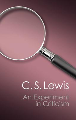 Image for An Experiment in Criticism (Canto Classics)