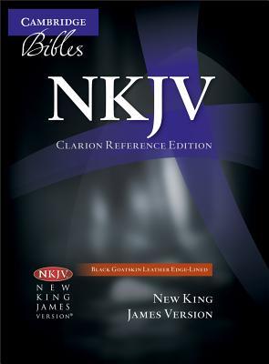 Image for NKJV Clarion Reference Black Goatskin NK486:XE