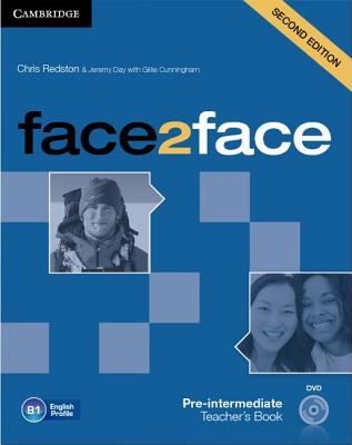 Image for Face2face Pre-intermediate Teacher's Book with DVD 2nd Edition