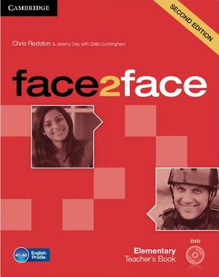 Image for Face2face Elementary Teacher's Book with DVD