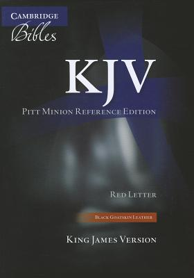 Image for KJV Pitt Minion Reference Black Goatskin KJ446:XR
