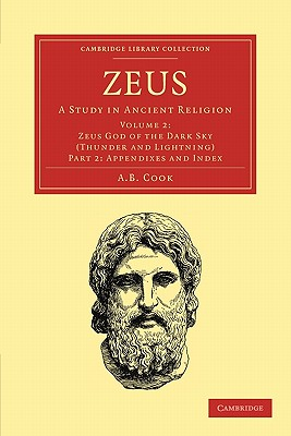 Image for Zeus: A Study in Ancient Religion (Cambridge Library Collection - Classics) (Part 2)