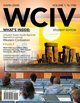 Image for WCIV, Volume I (with Review Cards and History CourseMate with eBook, Wadsworth Western Civilization Resource Center 2-Semester Printed Access Card)