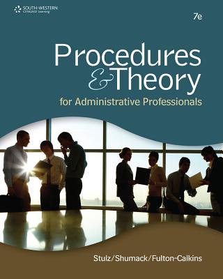 Image for Procedures & Theory for Administrative Professionals