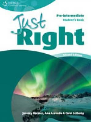 Just Right Pre-Intermediate Student's Book 2ed, Harmer, Jeremy